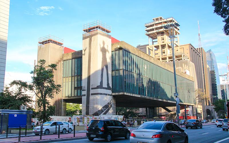 Vista da Avenida Paulista, MASP