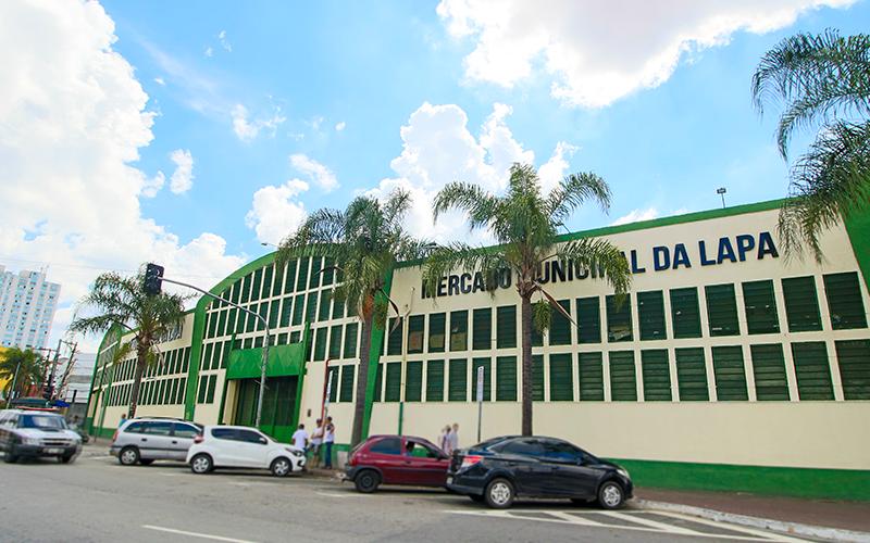 Famoso Mercado Municipal da Lapa.
