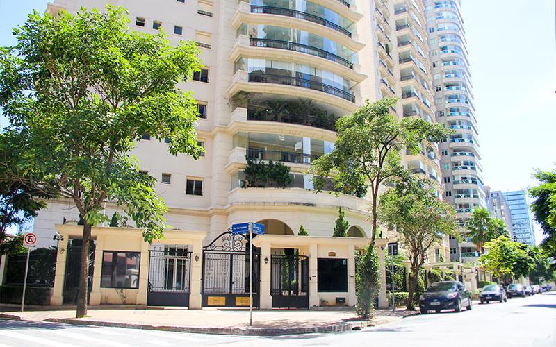 Edifícios residenciais no Itaim Bibi